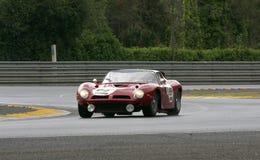 Le Mans-Rennwagen-Stromkreis Lizenzfreie Stockbilder