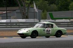 Le Mans-Rennwagen-Stromkreis Lizenzfreies Stockfoto