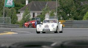Le Mans-Rennwagen-Stromkreis-Bahn Lizenzfreie Stockfotos
