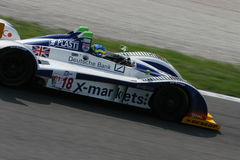 Le Mans Series Monza. The car depicted is pariticipating in the endurance 1000km race in Monza, Italy, for the European Le Mans Series Championship Royalty Free Stock Photography