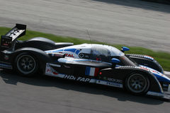 Le Mans Series Monza. The car depicted is pariticipating in the endurance 1000km race in Monza, Italy, for the European Le Mans Series Championship Royalty Free Stock Photos