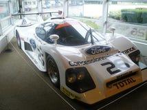 Le Mans vinnande bilställning Fotografering för Bildbyråer