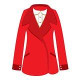 Le manteau classique des femmes Photographie stock