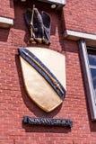 Le manteau des bras du nom de famille de Shakespeare Image libre de droits