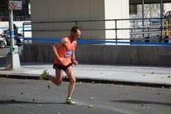 Le marathon 2014 de New York City 88 Photographie stock