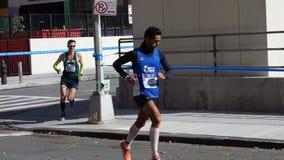 Le marathon 2014 de New York City 110 Image libre de droits