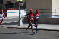 Le marathon 2014 de New York City 114 Photographie stock