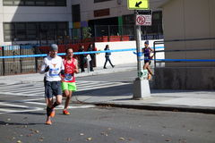 Le marathon 2014 de New York City 137 Images libres de droits