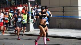 Le marathon 2014 de New York City 149 Image libre de droits