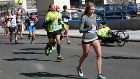 Le marathon 2014 de New York City 164 Photographie stock
