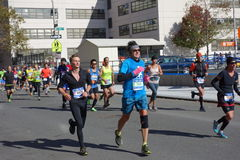 Le marathon 2014 de New York City 186 Image libre de droits