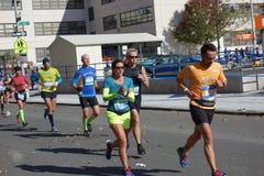 Le marathon 2014 de New York City 187 Photographie stock libre de droits