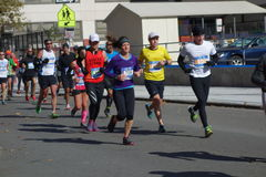 Le marathon 2014 de New York City 219 Image stock