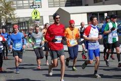 Le marathon 2014 de New York City 229 Image libre de droits