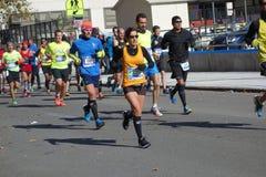 Le marathon 2014 de New York City 250 Photographie stock libre de droits
