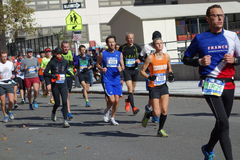 Le marathon 2014 de New York City 258 Image stock