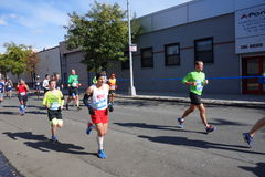 Le marathon 2014 de New York City 261 Photo libre de droits