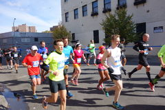 Le marathon 2014 de New York City 311 Photos libres de droits