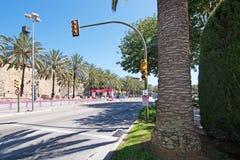 Le marathon des femmes dans Palma photos libres de droits