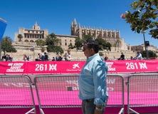 Le marathon des femmes dans Palma image stock