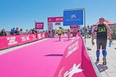 Le marathon des femmes dans Palma Photographie stock libre de droits