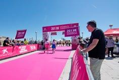 Le marathon des femmes dans Palma Photo stock