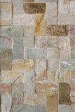 Le marbre couvre de tuiles le mur Photo libre de droits