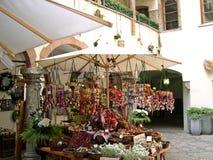 Le marché à Salzbourg Autriche Images stock