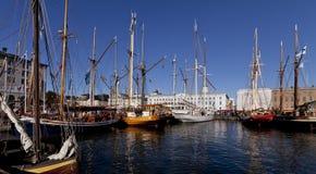 Le marché baltique d'harengs images libres de droits