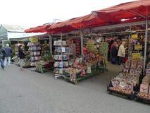 Le marché de fleur, Amsterdam image libre de droits