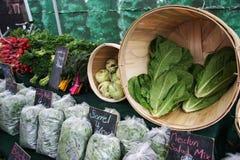 Le marché de l'agriculteur/Divers légumes Image libre de droits
