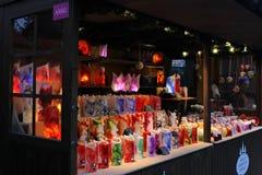 Le marché de Noël de Londres Photographie stock