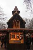 Le marché de Noël de Londres Photo stock