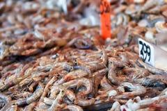 Le marché de poissons Image stock
