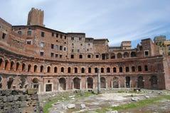 Le marché de Trajan. Rome Photos libres de droits
