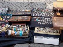 Le marché de ville en Géorgie images libres de droits