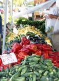Le marché du fermier Photo stock