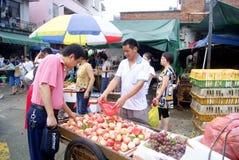 Le marché du fermier Photo libre de droits