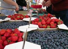 Le marché du fermier Image libre de droits