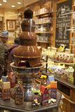 Marché de chocolat de Bruxelles photos libres de droits