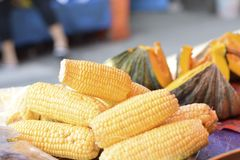 Le marché végétal en Thaïlande image stock