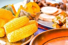Le marché végétal en Thaïlande images stock