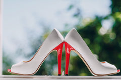 Le mariage chausse HD Images stock