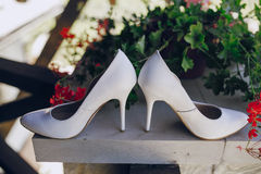 Le mariage chausse HD Photo stock
