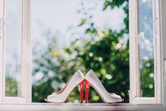 Le mariage chausse HD Photos stock
