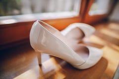 Le mariage chausse HD Image libre de droits