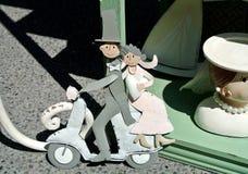 Le mariage de poupée Photographie stock