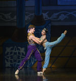 """Le marin et la sirène étaient amoureux au premier  de Nights†de l'""""One mille et un de ballet Photo libre de droits"""