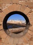Le Maroc Essaouira du rempart Photo stock