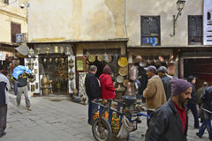 Le Maroc, Fes Photos libres de droits